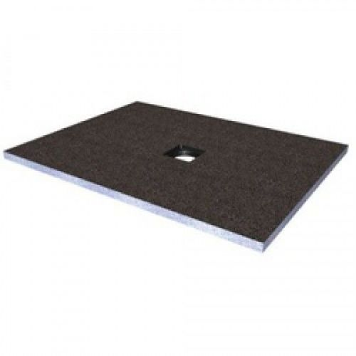 Abacus Elements Square Level Access Shower Tray 30mm High With Centre Drain - 1200mm x 1200mm